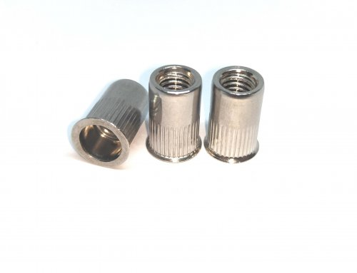 Small Head Round body Open End Rivet Nut